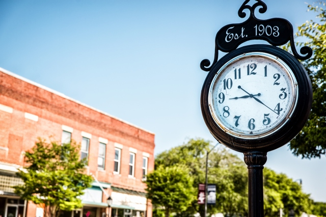 Downtown Wendell Clock.jpg