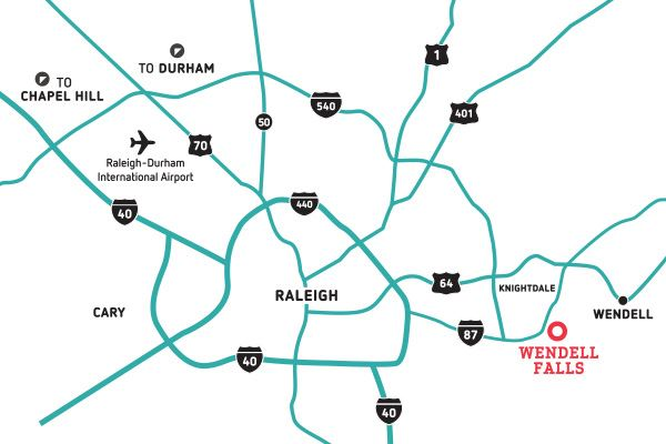 Location | New Homes Community Raleigh, NC on