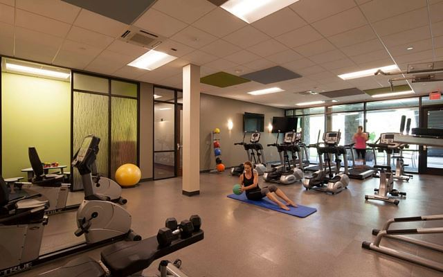 The Farmhouse Fitness Center at Wendell Falls
